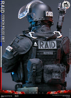 French Police RAID Unit - Black Red Dot Sight Type 2
