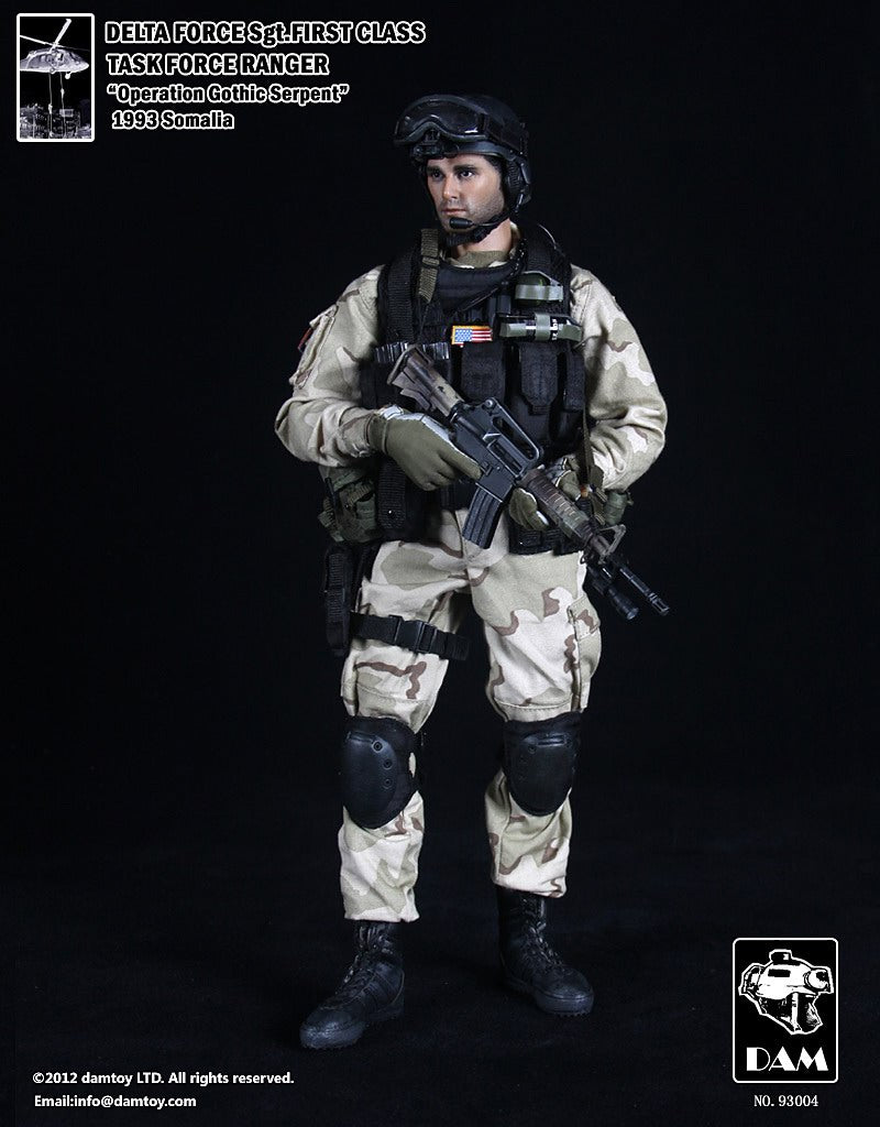 BHD Sgt. First Class Task Force Ranger Delta Force - MINT IN BOX
