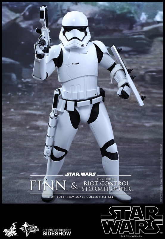 Star Wars - Finn & Riot Control StormTrooper - MINT IN BOX