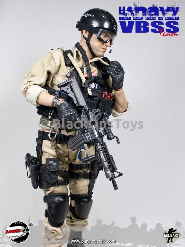 US Navy VBSS Oakley Gloved Hands w/Pins