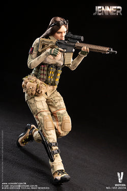 PREORDER A-TACS FG Women Soldier - JENNER (A Style) MINT IN BOX