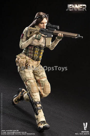 A-TACS FG Women Soldier - JENNER (A Style) - MINT IN BOX