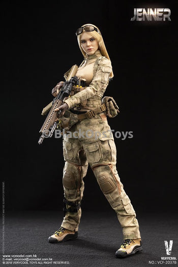 A-TACS FG Women Soldier - JENNER (B Style) - MINT IN BOX