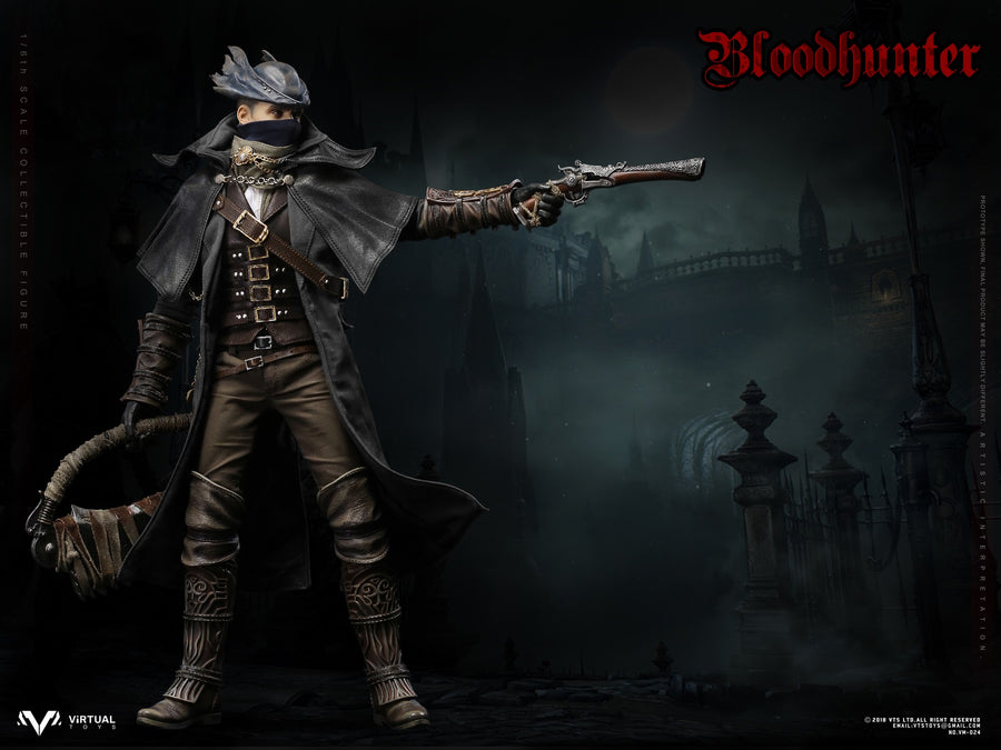 Bloodborne - Blood Hunter - Head Sculpt