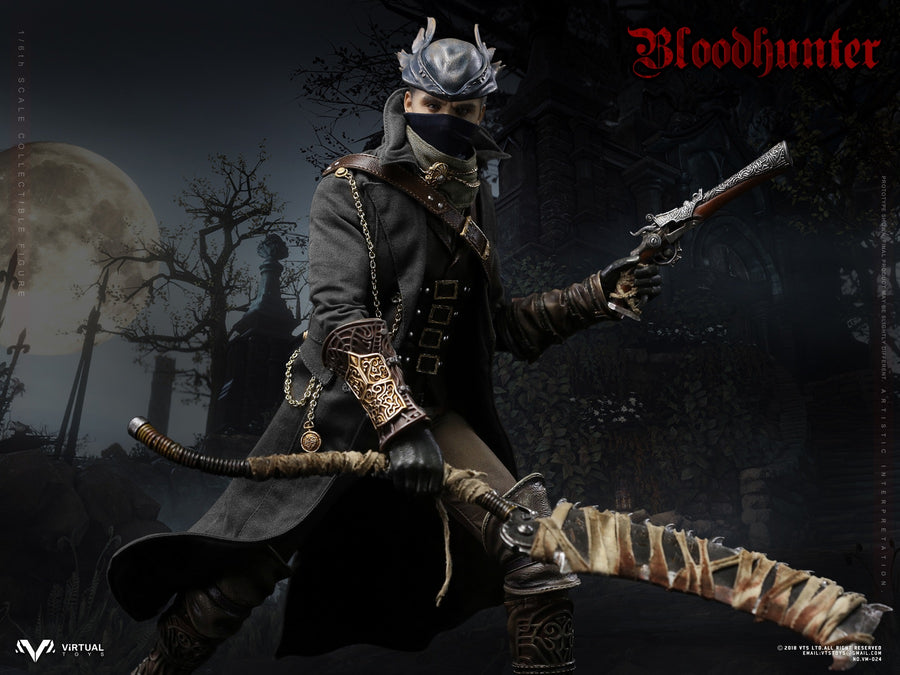 Bloodborne - Blood Hunter - Belt w/Drop Leg Tool Pouch