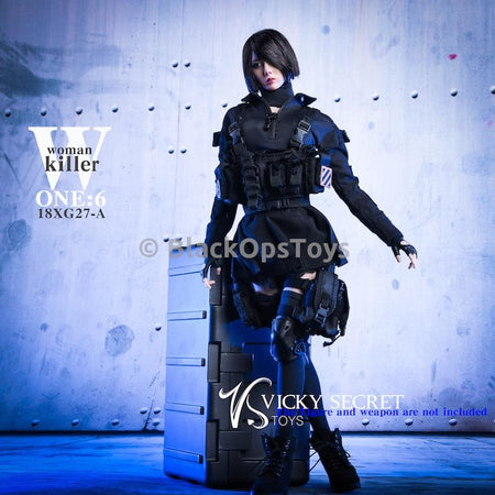 PREORDER Female Assassin Clothing Set MINT IN BOX