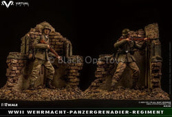 PREORDERS - 1/12 scale - Panzergrenadiers & Diorama 3-pack - MINT IN BOX