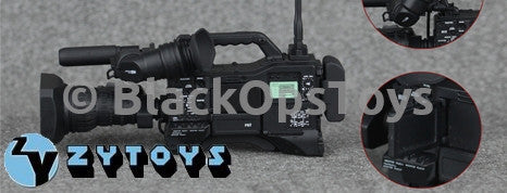 1/6 Scale Digital Video News Camera War Corespondent Reporter Set Mint in Box