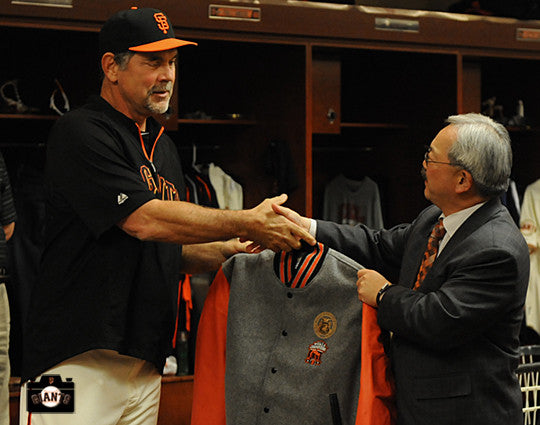 SF GIANTS-2012 CHAMPIONSHIP JACKETS BY GOLDEN BEAR!
