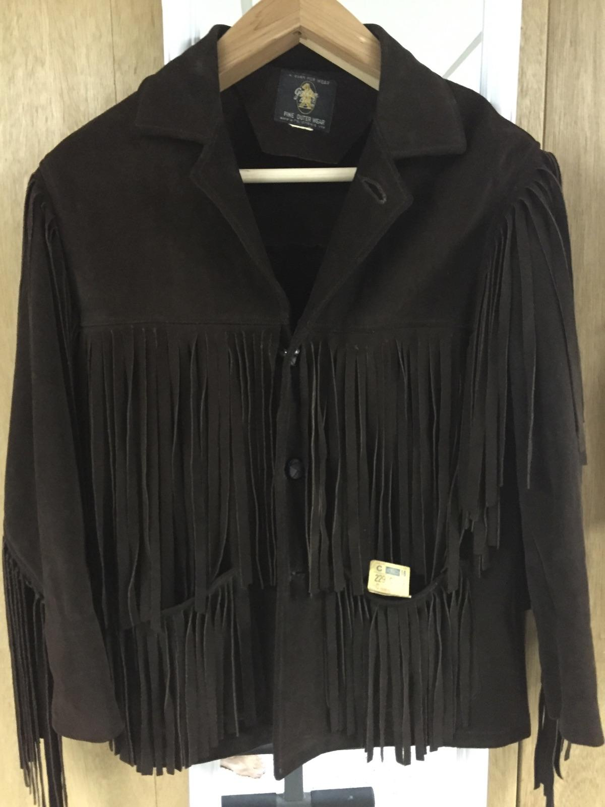 A fringe jacket with a little history