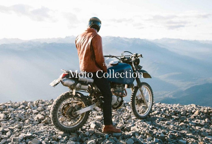 TAYLOR STITCH MOTO COLLECTION FEATURES GOLDEN BEAR