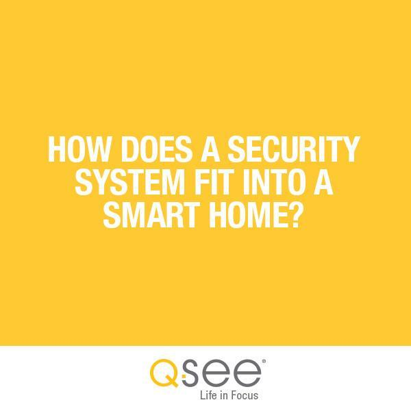 How Does a Security System Fit Into a Smart Home?