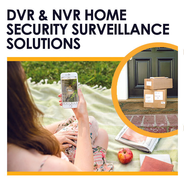 Home security dvr & nvr