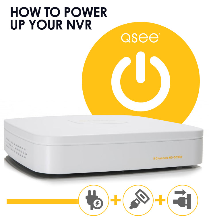 How to Power Up Your NVR