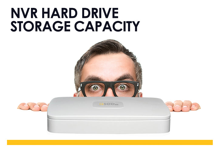 NVR Hard Drive Storage Capacity