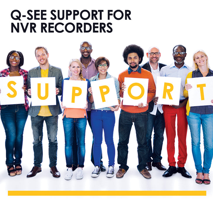Support for NVR Recorders