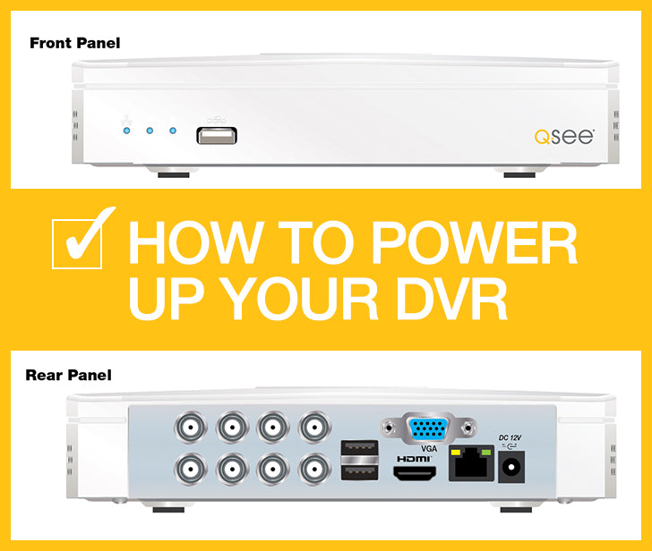 DVR Installation Support