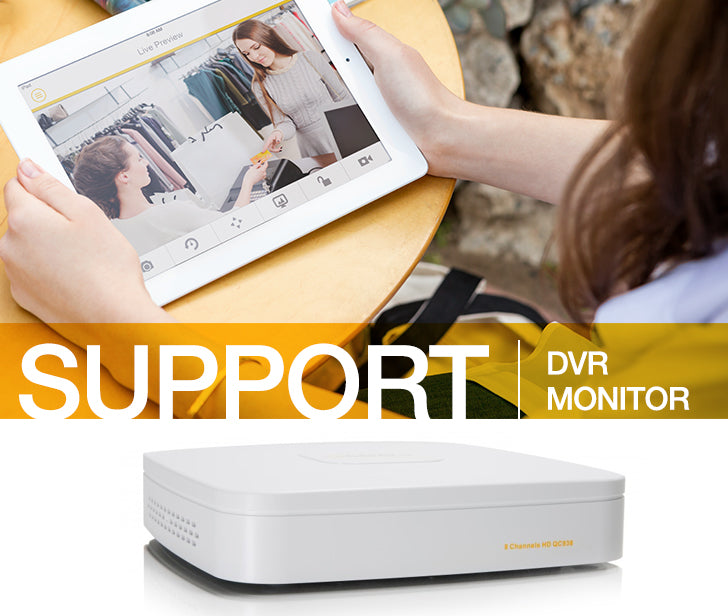 DVR Monitor Support