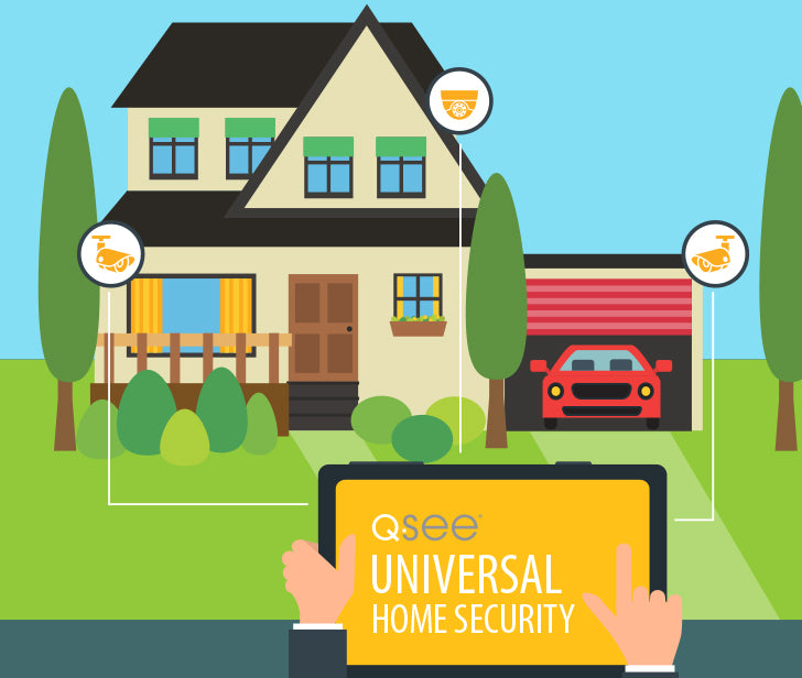 Q-See Universal Home Security Systems