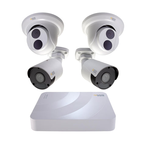 5MP HD 16 Channel IP Security System with 2TB Hard Drive and 12 5MP IP Outdoor Bullet Cameras with Color Night Vision (H162K2.12)