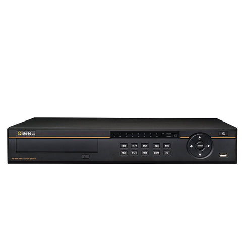16 Channel 4MP IP Network Video Recorder with Pre-Installed Hard Drive (QC8816) IP HD NVRs  - Q-See