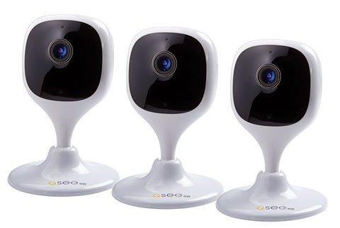 4 Pack of 1080p HD Bullet Security Cameras (QTH8053BA-4)