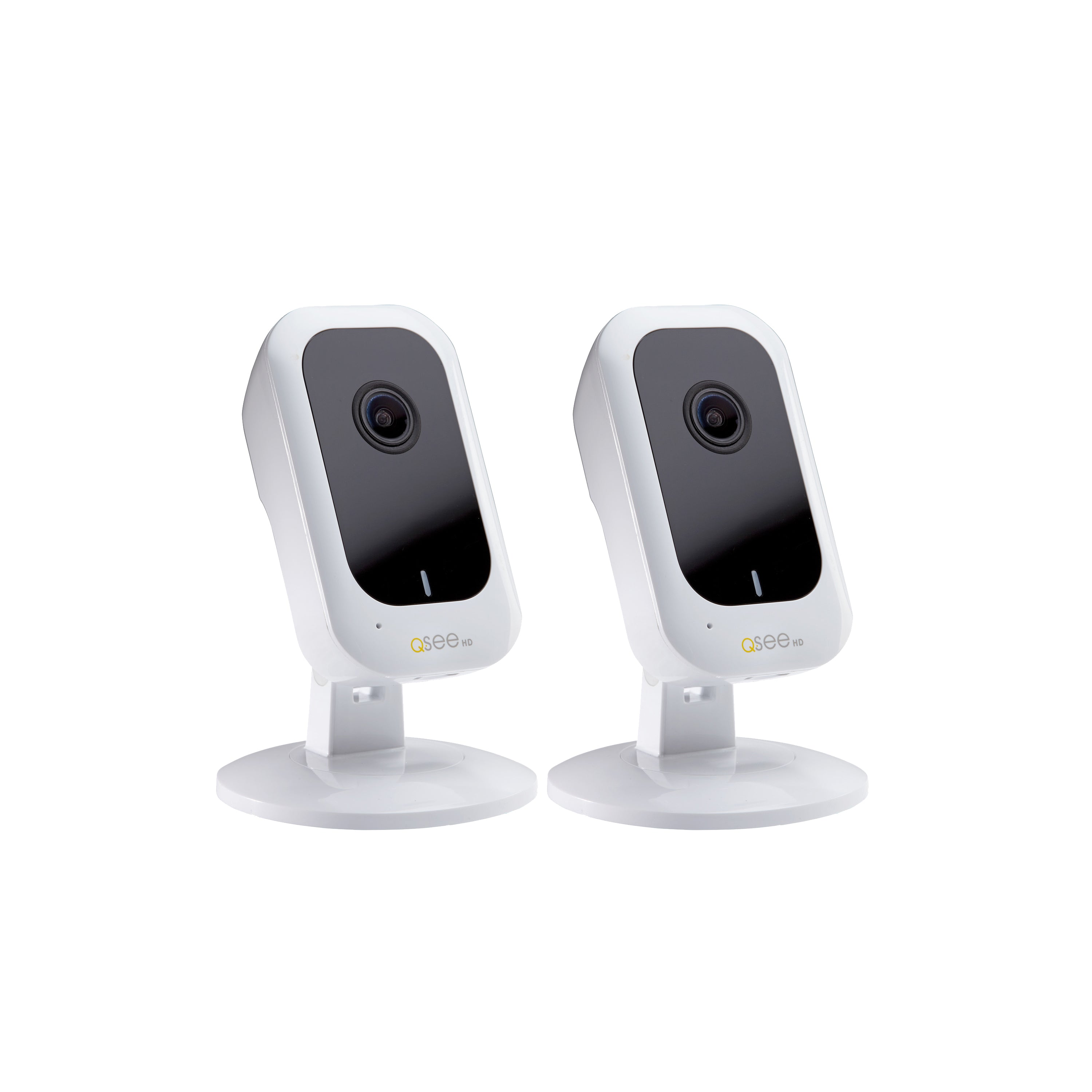 3MP Smart Home Wi-Fi Cube Camera with 16GB micro SD Card - 2 Pack (QCW3MP16-2) Wi-Fi  - Q-See