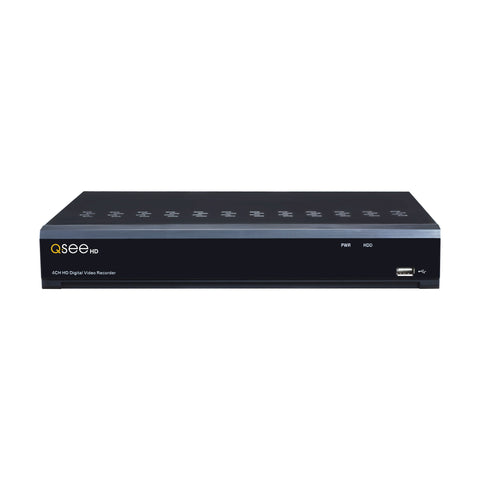 4 CHANNEL ANALOG HD 1080p DVR WITH (4) 1080p BULLET CAMERAS AND 1TB HDD (QR474-4HP-1) Analog HD DVRs  - Q-See