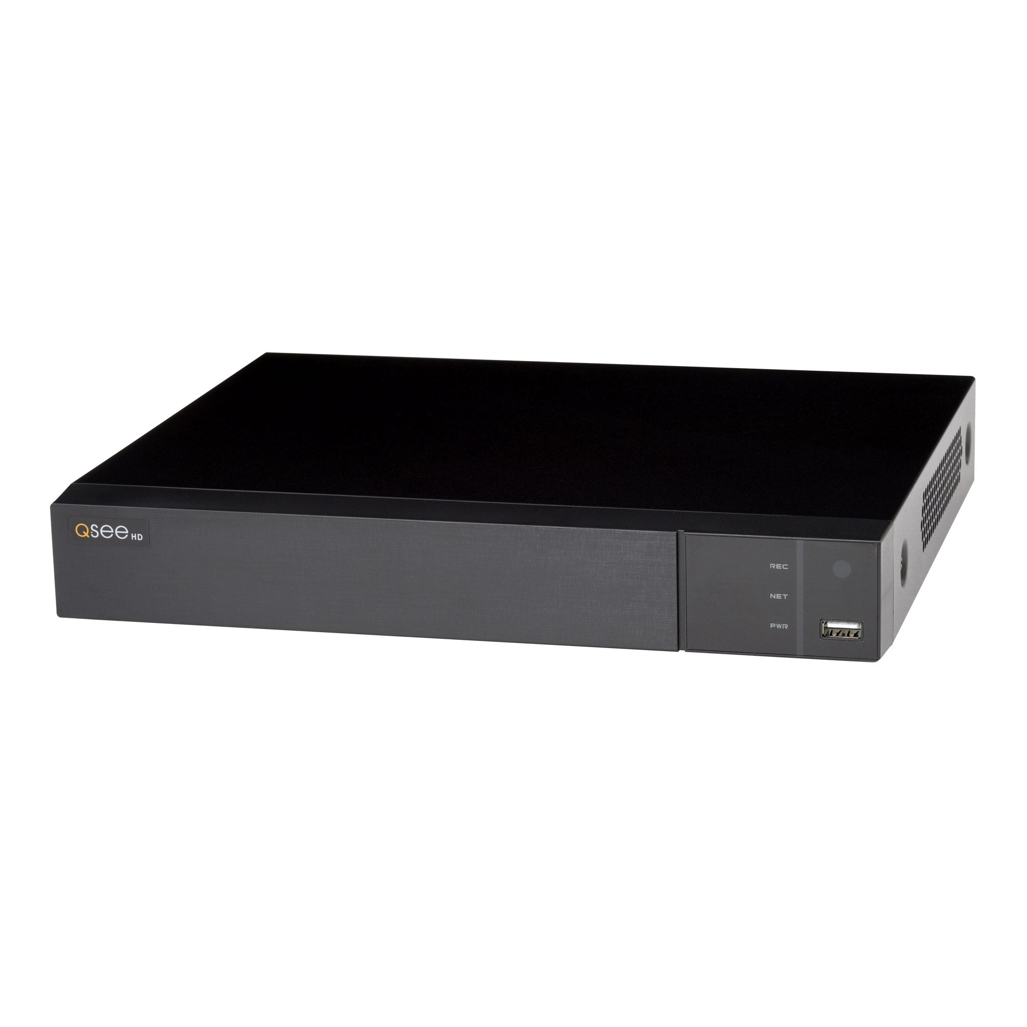 8 Channel IP 4K Ultra HD Capable NVR with 2TB HDD and 4 IP HD 4MP Security Cameras (QT878-4AP-2)