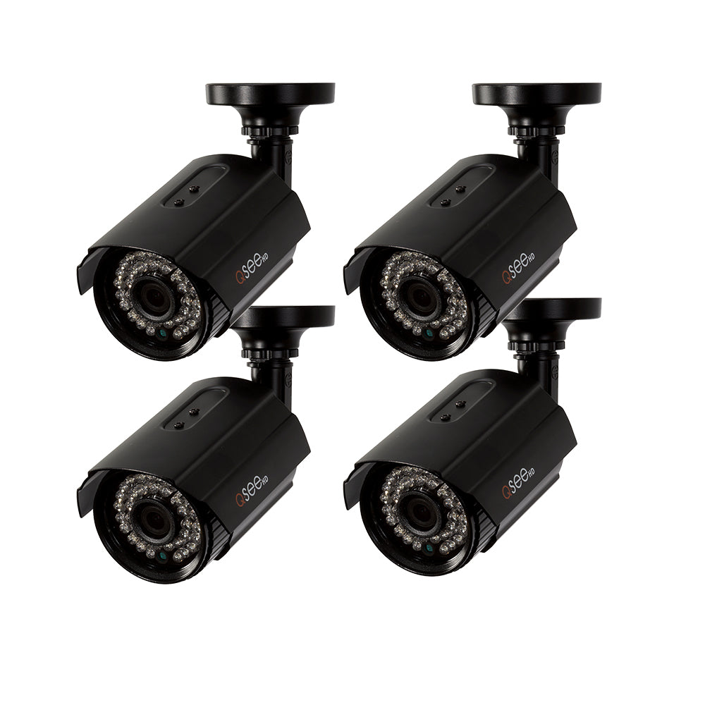 4 Pack 1080p HD Bullet Security Camera (QTH8053B-4)