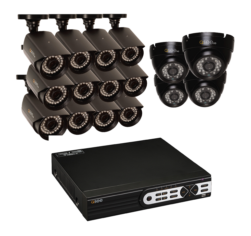 16 Channel Hd Security System With 16 Hd 1080p...