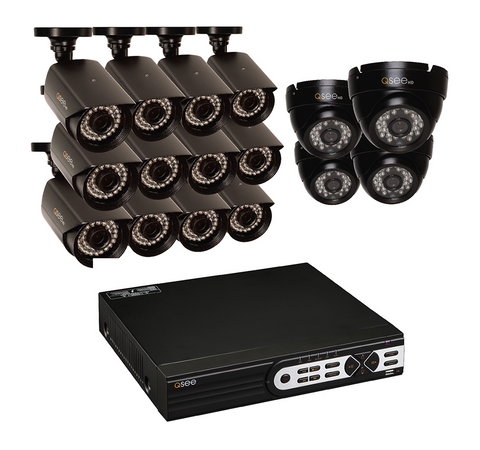 n/a Q-See 16-Channel HD Security System with 16 HD 1080p Cameras QT9316-16DD-2