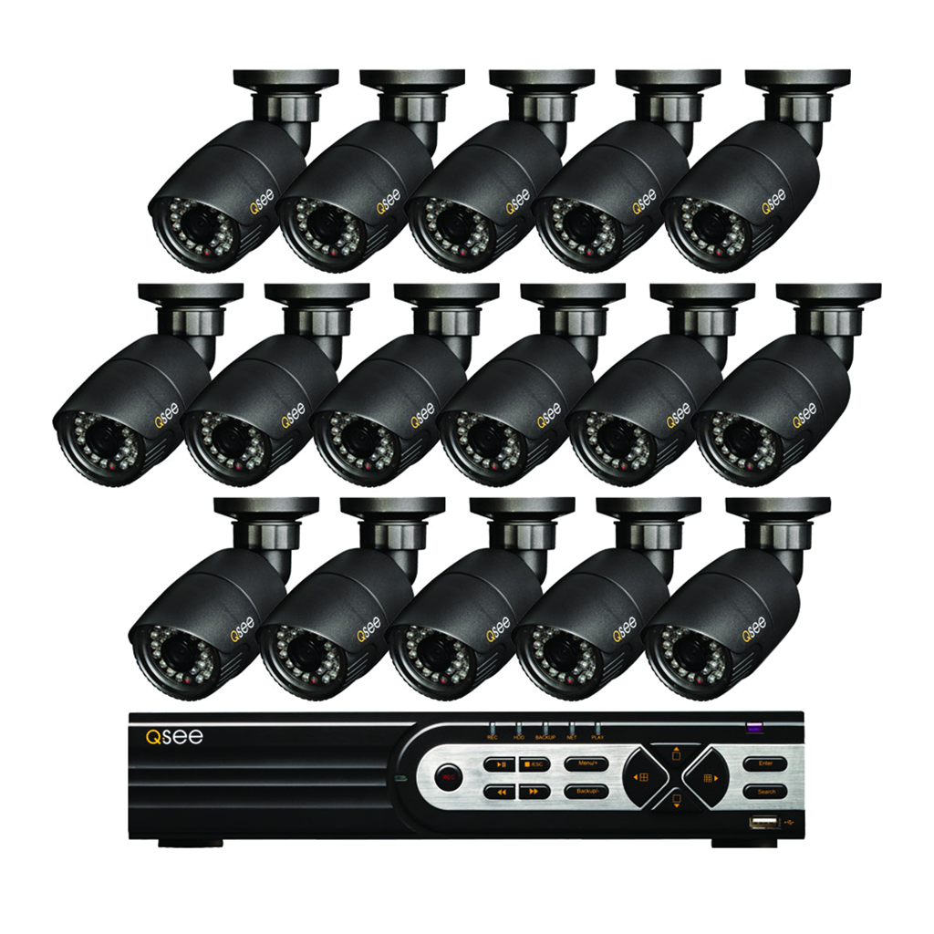 16 Channel Hd Security System With 16 Hd 720p...