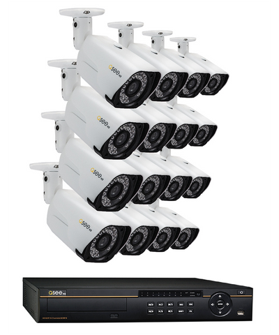 n/a Q-See 16-Channel IP System with 16 4-Megapixel Cameras QC8816-16AU-4