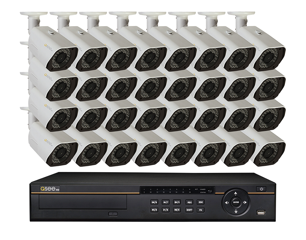 32 Channel Hd Digital Security System With 32 4...