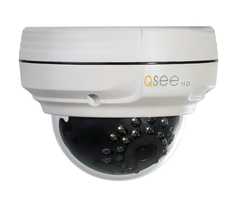 n/a Q-See Reconditioned 2 MP 1080p HD IP Dome Camera QTN8018D-R 90 DAY WARRANTY