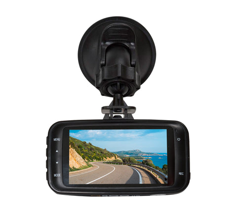Q-GO 1080p HD Dashcam with 16GB micro SD card (Q-GOHD-16)