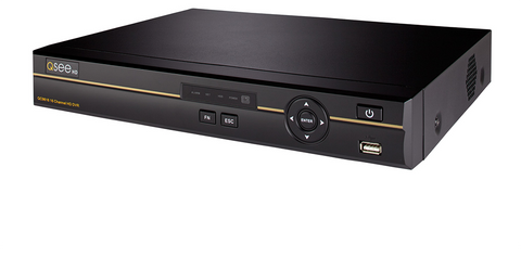 Q-See ANALOG HD 16-Channel 4MP ANALOG HD Digital Video Recorder with 2TB HDD (QC9616-2)