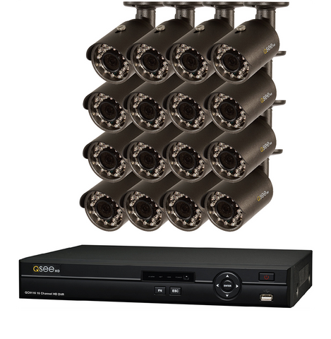 16 Channel 1080P Network Video Recorder with 2 TB Hard Drive (QT8516-2)