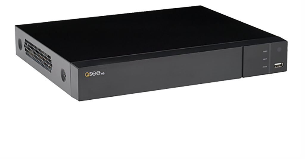 8 Channel Analog HD 1080p DVR with PIR Camera Support and Pre-installed 1TB  Hard Drive (QTH98-1)