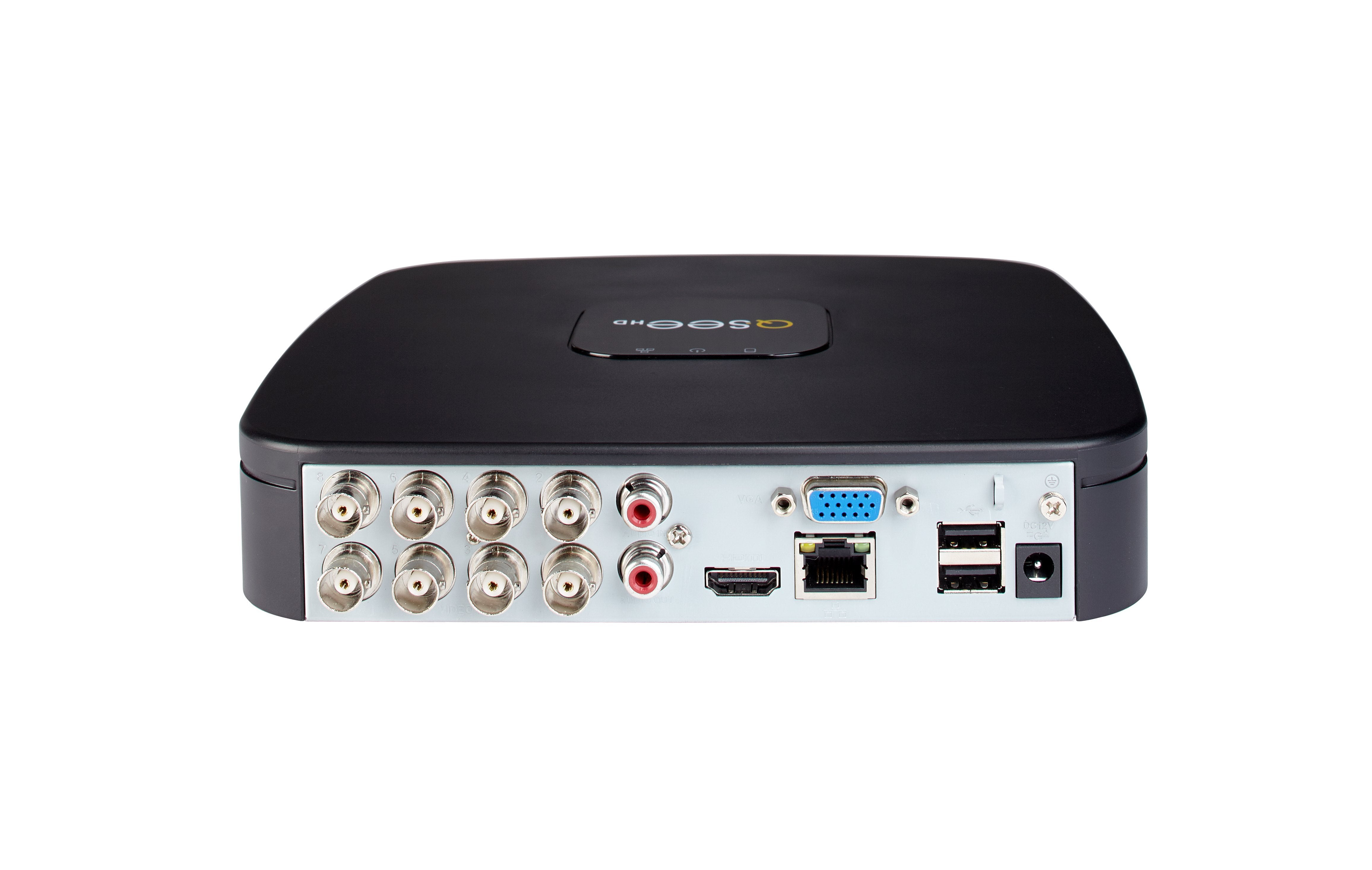 8 Channel Analog HD 1080p DVR with PIR Camera Support and Pre-Installed 1TB Hard Drive (QC918B-1) ANALOG HD  - Q-See