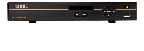 Q-See ANALOG HD 8-CHANNEL 4MP ANALOG HD Digital Video Recorder with 2TB HDD (QC968-2)