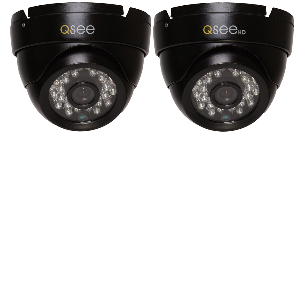 720p Analog HD Dome Security Camera 2-Pack (QTH7213D-2) Analog HD Camera  - Q-See