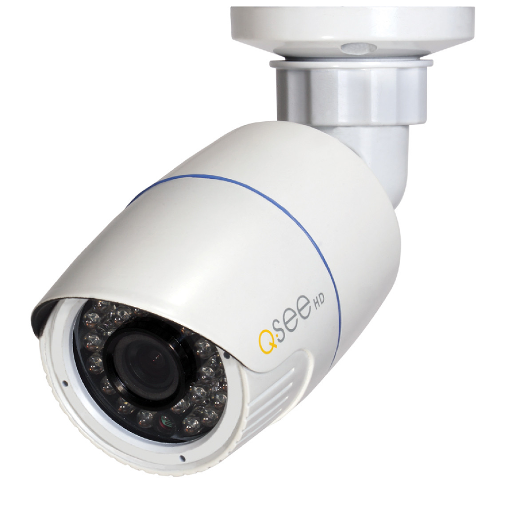 Q-See Cameras IP 4MP HD Bullet Security Camera - Four Pack (QTN8041B-4)