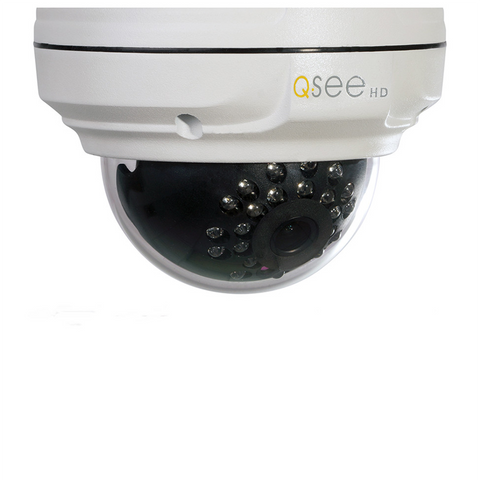 4MP IP HD Dome Security Camera with H.265/H.264 Video Compression (QTN8067D) Cameras  - Q-See