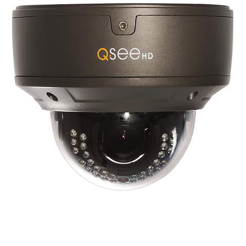 Q-See Cameras IP 4MP HD Varifocal Dome Security Camera (QTN8044D)