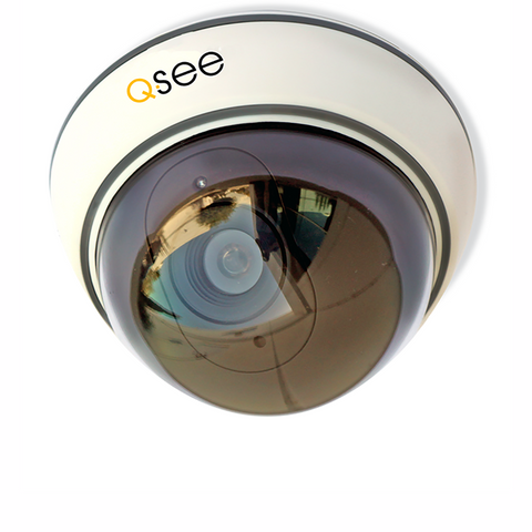Q-See Cameras Non-Operational Decoy Dome Security Camera (QSM30D)