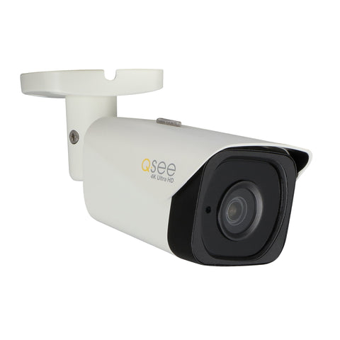4K IP Ultra HD Bullet Camera with Intelligent Video Analysis (QCN8090B) IP HD Cameras  - Q-See