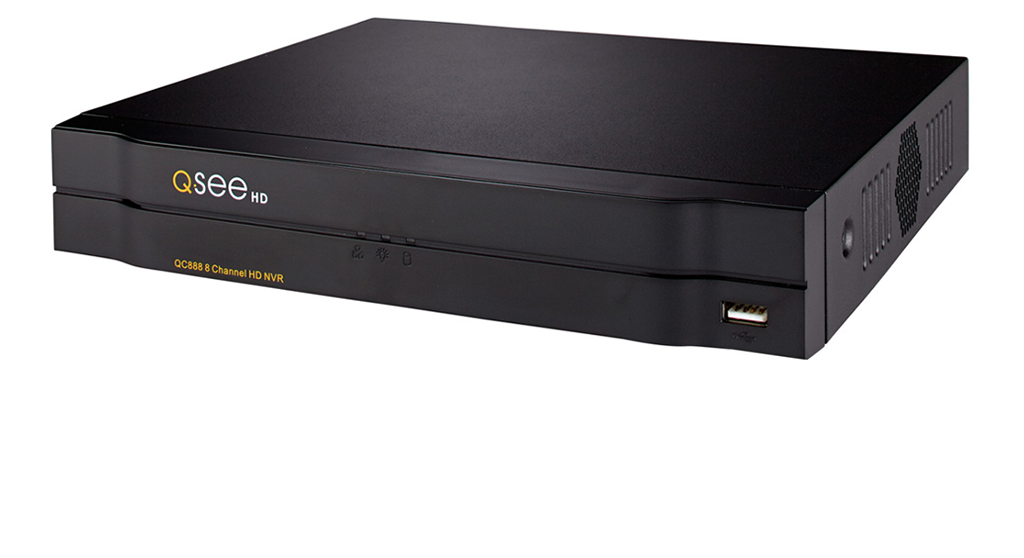 8-Channel 4K IP HD Network Video Recorder with NO HDD (QC888) IP HD NVRs  - Q-See