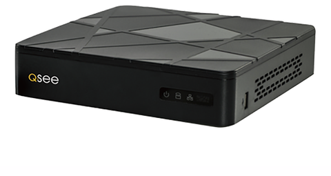 Reconditioned 4 Channel Analog HD 720p DVR with Pre-Installed 1TB Hard Drive (QTH41-1R) 90 Day Warranty
